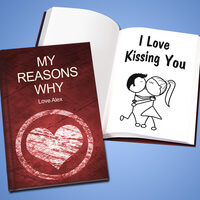 Personalized Love Story - Hard Cover