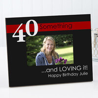 Personalized Birthday Photo Frames - Age Is Not..