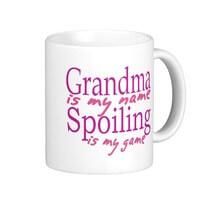 Grandma Is My Name Classic White Coffee Mug