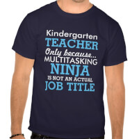 Funny Kindergarten School Teacher Appreciation T..