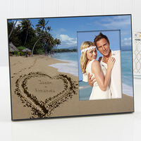 Personalized Picture Frames - Tropical Beach