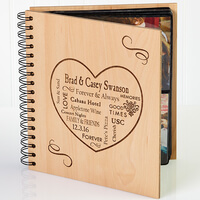 Personalized Photo Album For Couples - Our Life..