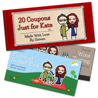 Love Coupon Book - Personalized 20-Page..