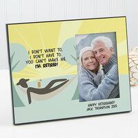 Personalized Retirement Photo Frame - Im Retired