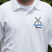 Gone Fishing Personalized Polo Shirt