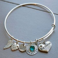 Personalized Big Sister Bracelet