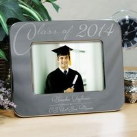 Engraved Class Of Graduation Picture Frame