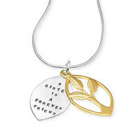 A Sister Is A Forever Friend Necklace