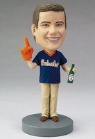 Custom Bobblehead Of A Sports Fan - Made From..