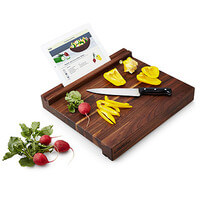 Tablet Holding Cutting Board