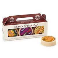 6 Pack Beer Soap Set