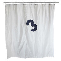 Recycled Sailcloth Shower Curtain