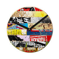 Skateboard Wall Clock