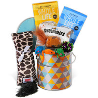 Cat Lovers Gift Basket