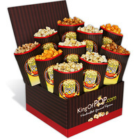 The Critics Choice Gourmet Popcorn Sampler