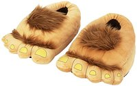 Furry Hairy Slippers