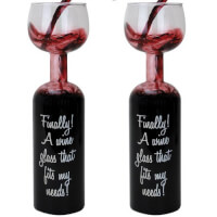 Hilarious Wine Lovers Glass