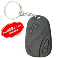 Car Keychain Spy Camera