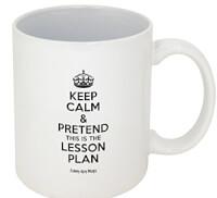 Pretend Its On The Lesson Plan Mug