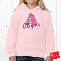 Personalized Kids Sweatshirt For Girls - Her..