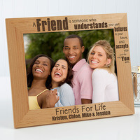 Personalized Friends Forever Picture Frames - 8x10