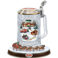 Budweiser Holiday Cheers Stein With Lights,..