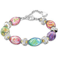 Daughter I Wish You Murano Style Glass Engraved..