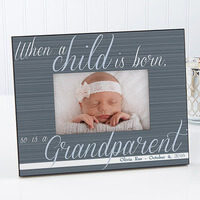 Personalized Grandparent Picture Frames - A..