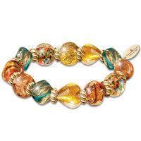 Artisan Glass Bracelet Inspired By Thomas..