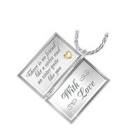 Dear Sister Diamond Locket Necklace For Sisters