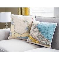 Not For Navigation: Custom Nautical Pillow