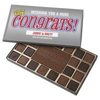 Custom Congratulations Assorted Chocolates