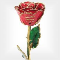 1st Mothers Day Personalized Birthstone Rose..