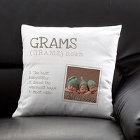 Personalized Photo Throw Pillow - Definition Of..