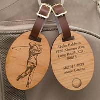 Personalized Golf Bag Tags - Vintage Golfer