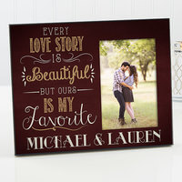 Personalized Picture Frame Romantic - Our Love..