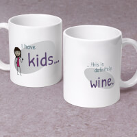This Is Definitely Wine - Personalized 11 Oz...