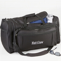 Embroidered Name Duffel Bag - Deluxe Weekender