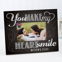 Personalized Romantic Photo Frame - You Make My..