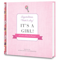Its A Girl! Personalized Baby Book