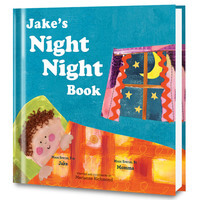 The Night Night Book (For Boys) Personalized Book