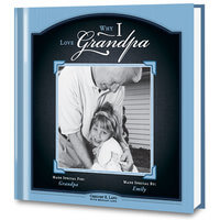 Why I Love Grandpa Personalized Photo Gift Book