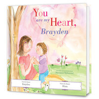 You Are My Heart Personalized Kids Book