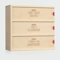 Three Nights Anniversary Wine Box