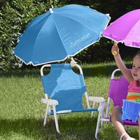 Personalized Child Beach Chair And Umbrella Set..