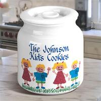 Personalized Cookie Jar With Sponge Kids