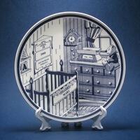 Personalized Baby Keepsake Plate