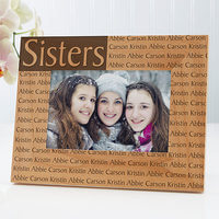 Personalized Wood Picture Frame With Custom..