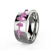 Personalized Titanium Rings From Your Voice!