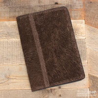 Amish Crafted Brown Hippopotamus Business Padfolio